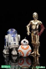 Звёздные войны Пробуждение Силы фигурки дроидов 1/10 R2-D2 C-3PO и BB-8