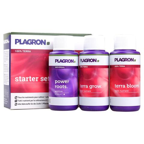 Стартовый набор удобрений Plagron Starter Set 100% Terra