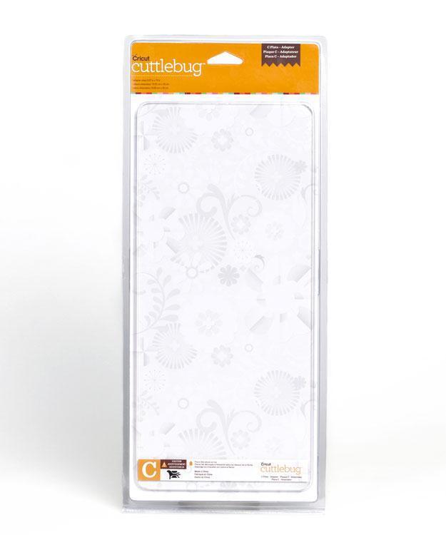 Пластина С-адаптер Cuttlebug Cutting Plate - 15х33см.