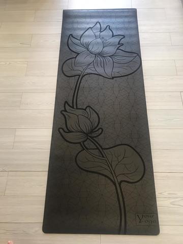 Каучуковый коврик для йоги Flower 183*65*0,4 см