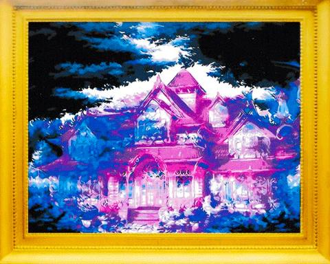 А1371 Алмазная мозаика выкладка 30*40см без рамы