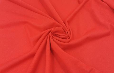 Кулирка (бельевая), хлопок (100% Х/Б), красный (алый), (Арт: KT-100)