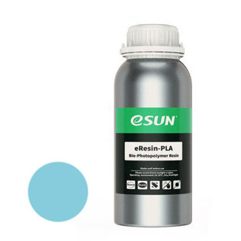 Фотополимер ESUN eResin-PLA голубой (1 л)