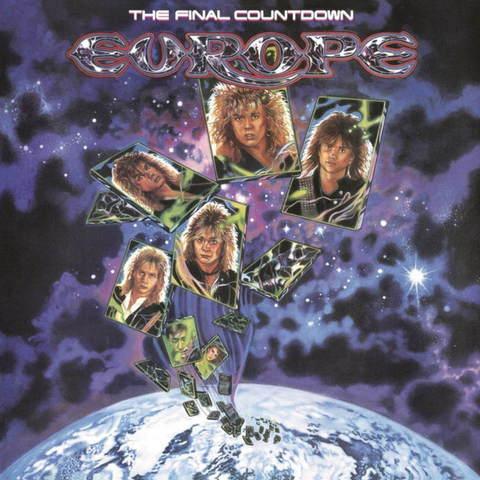 Виниловая пластинка. Europe – The Final Countdown (Black Vinyl)