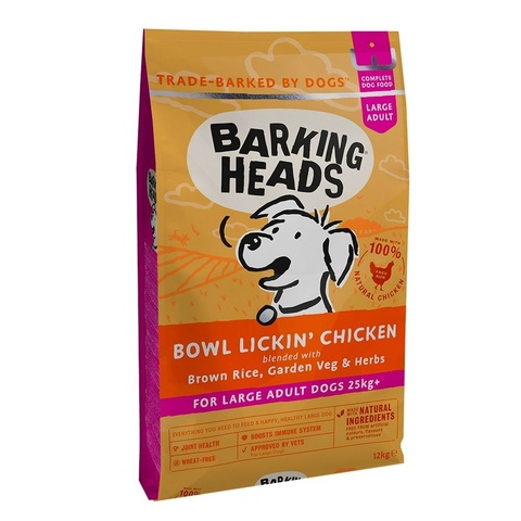 BARKING HEADS BOWL LICKIN' CHICKEN LARGE BREED