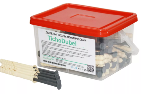 Дюбель акустический TichoDubel 67, 125 шт, 6*70 мм