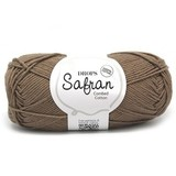 Пряжа Drops Safran 22 молочный шоколад