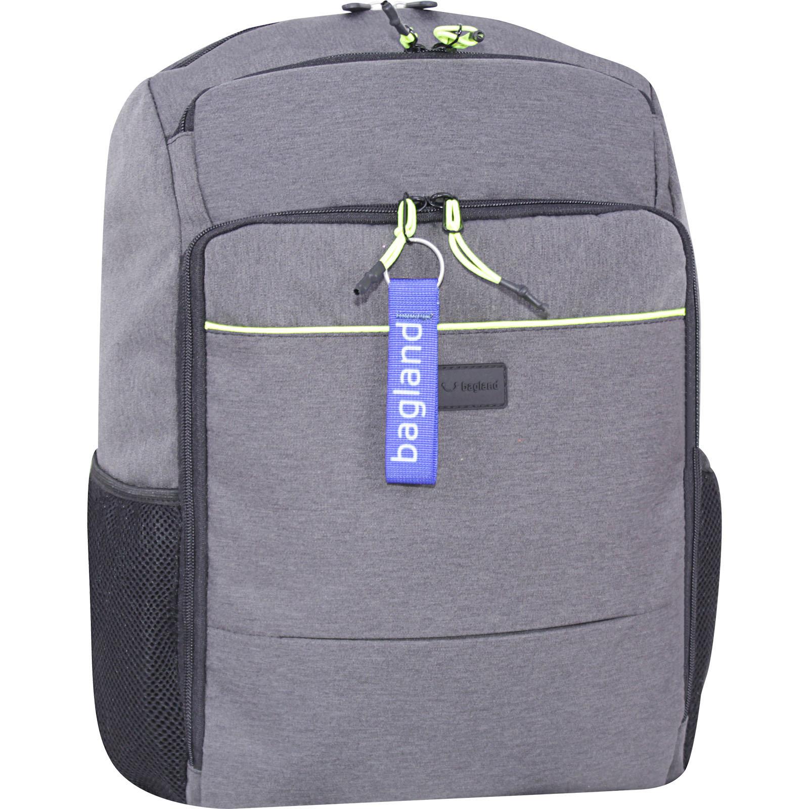 Мужские рюкзаки Рюкзак Bagland Дортмунд 30 л. Серый (0016769) IMG_7613-1600.jpg
