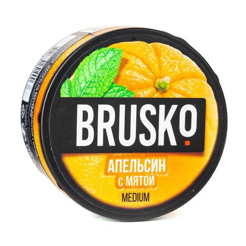 Кальянная смесь BRUSKO 250 г Апельсин с Мятой