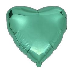 Воздушный шар Сердце 44см (Бирюзовое)