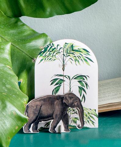 Открытка Pop out cards Elephant
