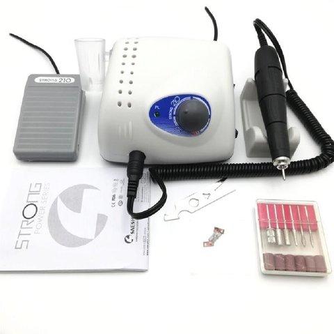 Электрическая машинка для маникюра и педикюра Strong 210