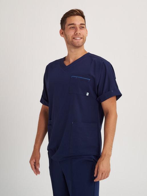 Мужской медицинский костюм из легкой ткани