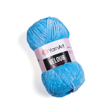 Пряжа YarnArt Velour 850 голубая бирюза