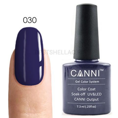 Canni Canni, Гель-лак № 030, 7,3 мл 030.jpg