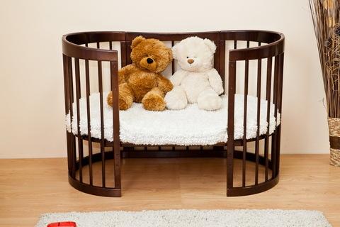"""С 422 Кровать детская """"Паулина-2"""" (шоколад)"""