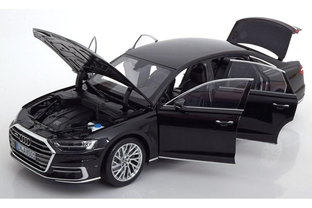 Коллекционная модель AUDI A8 L LIMOUSINE 2017 MYTH BLACK
