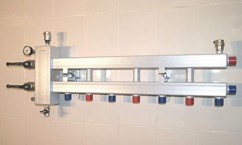 Балансировочный коллектор - Гидрусс BM-100-4D