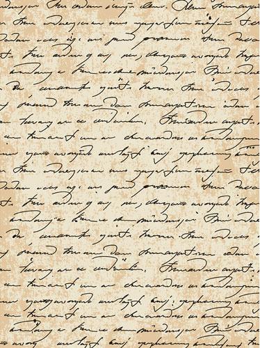 Рисовая бумага для декупажа Старинная рукопись, А3