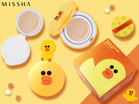 Кушон для лица Missha Line Friends Magic Cushion SPF50 /PA, 15 мл+15 мл