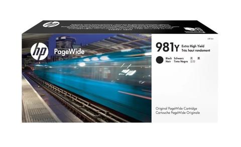 Оригинальный картридж струйный HP L0R16A (№981Y) черный