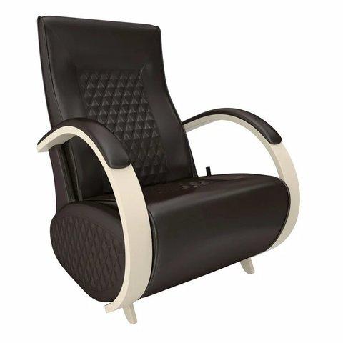 Кресло-глайдер Balance Balance-3 с накладками, дуб шампань/Oregon perlamutr 120, 014.003