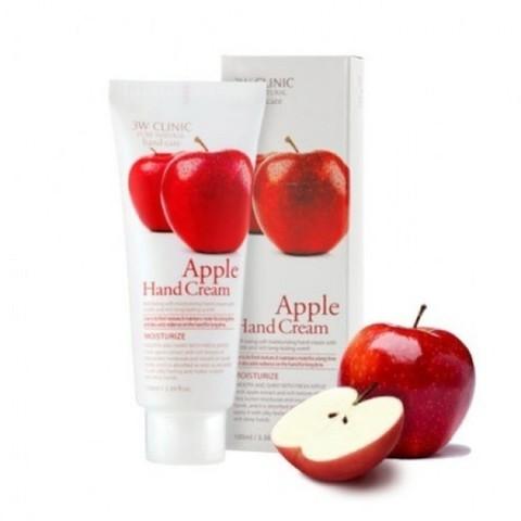 Крем для рук ЯБЛОКО 3W CLINIC Apple Hand Cream, 100 мл