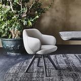 Кресло поворотное Bombè, Италия
