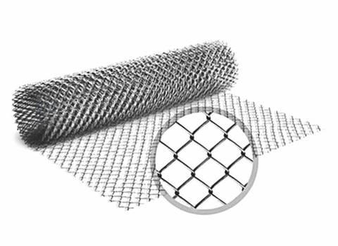 Сетка рабица плетеная без покрытия