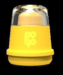 Бальзам для губ с ароматом банана  /POGO Mint Mint Shrink Band