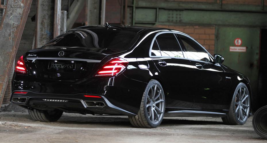 Обвес IMSA для Mercedes S63/S65 W222 рестайлинг