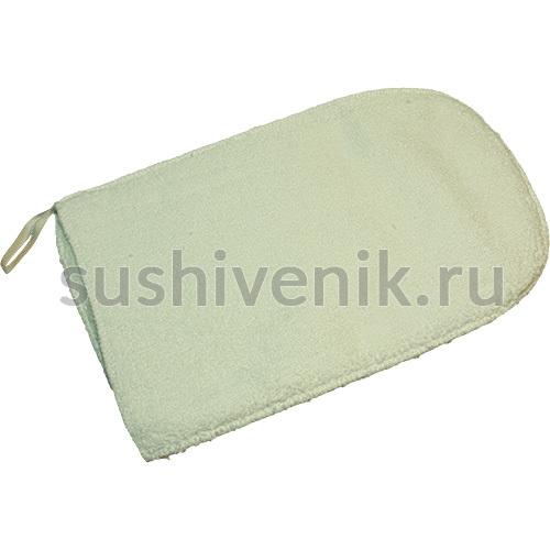 Мочалка-рукавица банная