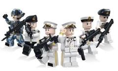 Минифигурки Военная Полиция в парадной форме серия 171