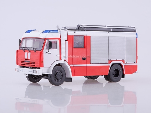 KAMAZ-43253 AC-3,2-40 Fire-fighting tanker 1:43 PAO KAMAZ