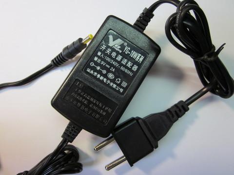 YG-18W Адаптер сетевой +9V, 2A