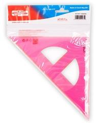 Угольник 45/177, розовый, 744153