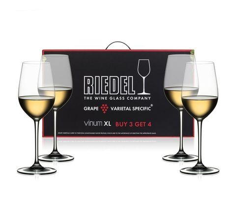 Набор из 4-х бокалов для вина Riesung Grand Cru Pay 3 Get 4 405 мл, артикул 7416/51. Серия Vinum XL