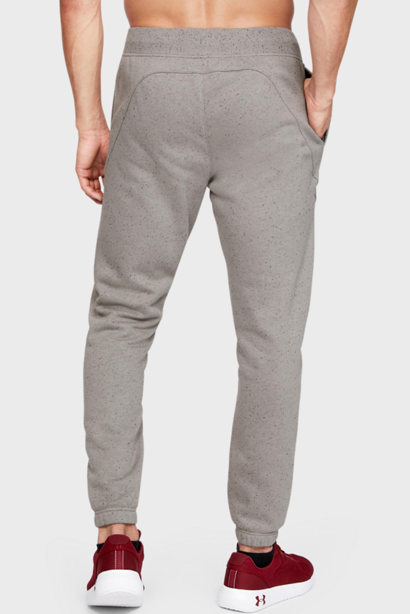 Мужские серые спортивные брюки SPECKLED FLEECE JOGGERS Under Armour
