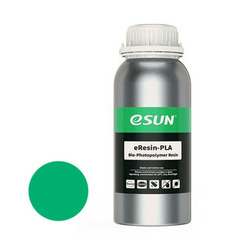 Фотография — Фотополимер ESUN eResin-PLA зеленый (1 л)