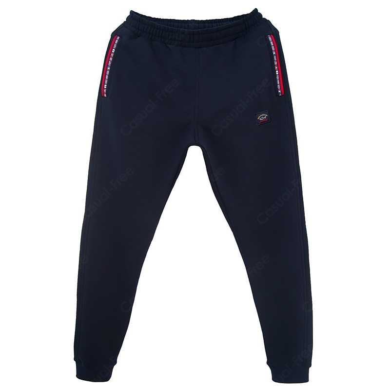 """Спортивные брюки Утеплённые спортивные брюки """"Paul and Shark"""" 232-тёмно-синий_01.jpg"""