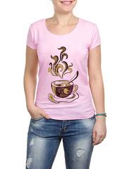 2352-3 футболка женская, розовая