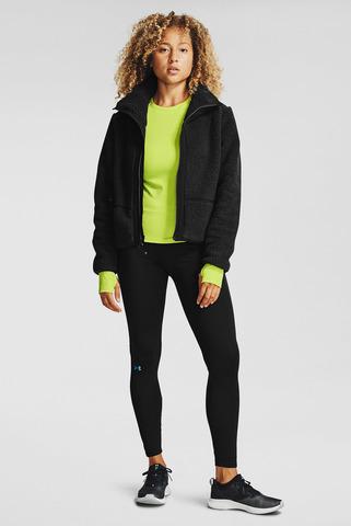 Женская черная куртка UA LEGACY SHERPA SWACKET Under Armour