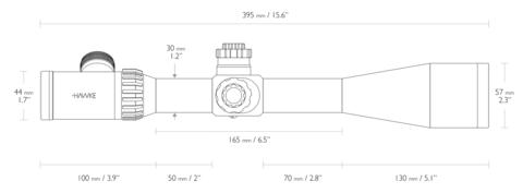 ОПТИЧЕСКИЙ ПРИЦЕЛ HAWKE TACTICAL AIRMAX 30 6-24X50 SF(AMX IR)