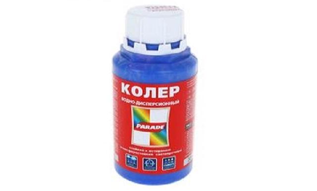 Колер  № 245 Синий 0,25л Россия