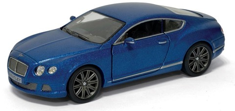1:38 2012 Bentley Continental GT в инд. кор.