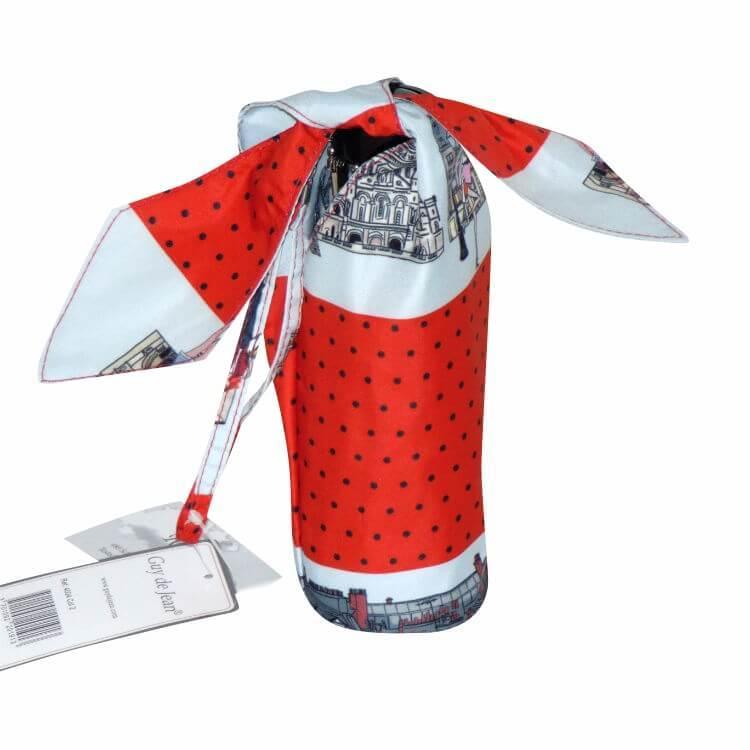 Зонт микро Guy de Jean 4004-2 Paris stripe