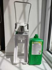 Набор 1: антисептик для рук и дозатор локтевой 1л