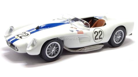 Ferrari 250 Testa Rossa Nart 1958 #22 white 1:43 Eaglemoss Ferrari Collection #52