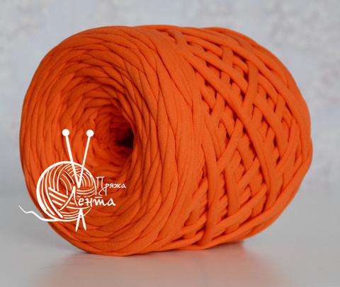 Пряжа Лента Оранжевый