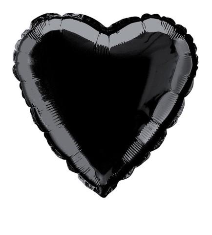 Сердце Пастель, Чёрный (46 см)
